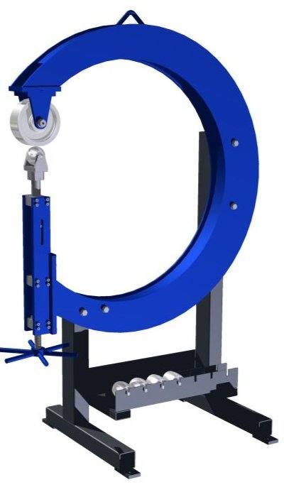RSM 710 Bernardo Rollenstreckmaschine