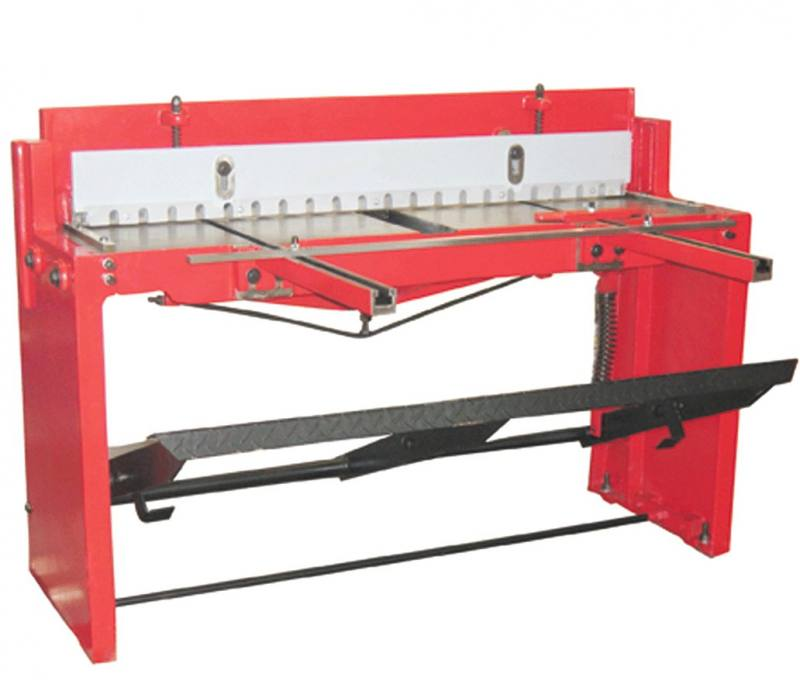 Steel Shear Metalworking New Zealand: TBS1320 Sheet Metal Shear