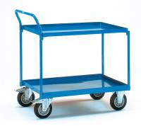 Table top cart with 2 steel plat...
