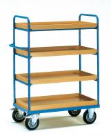 Shelved trolley 4 with boxes 850...