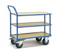 Table top cart 400 kg, 3 shelves...