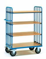 Shelved trolley 500 kg, 4 shelve...