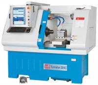 Knuth CNC Horizontal Lathe Turns...